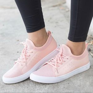 Shoes - NWB Chic + Sporty CUTE & Comfortable Pink Sneakers
